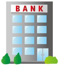銀行のビル