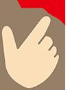 ハンドサインの画像
